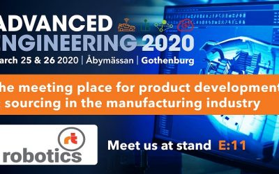 Advanced engineering – Åby mässhall 25-26/3